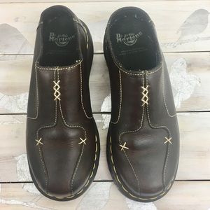 Dr. Martens Slip On Leather Mules '3A56' UK 4 US 6